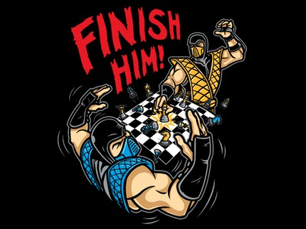 Mortal Kombat Chess Match Finish Him