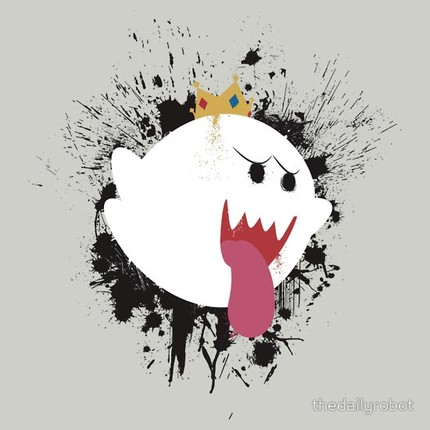 King Boo Splattery