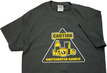 Caution: Caffeinated Gamer