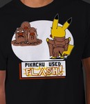 Pikachu Used Flash