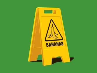 Caution! Bananas