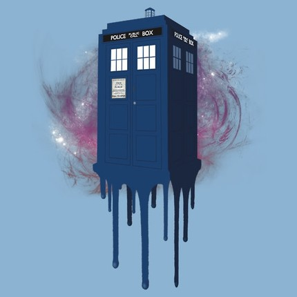 Doctor Who - TARDIS Melt