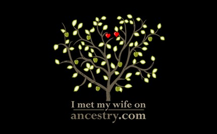 I Met My Wife On Ancestry.com