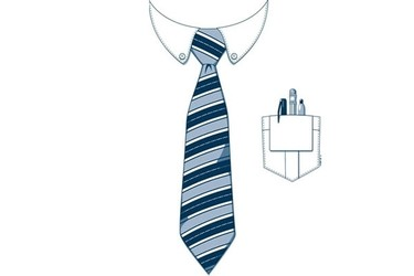 Office Guy Shirt and Tie