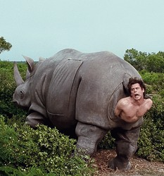Ace Ventura Rhino Birth