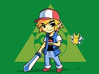 Link Ketchum - Ready for Battle