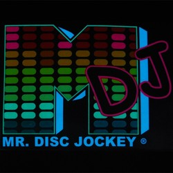 Mr DJ (Disk Jockey) VU-Meter Visualizer