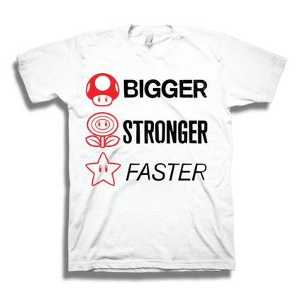 Bigger, Stronger, Faster