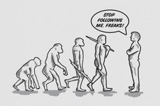 Evolution - Stop Following Me Freak