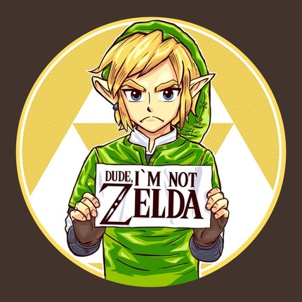 Dude, I'm Not Zelda!!