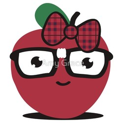 Nerdy Apple Girl