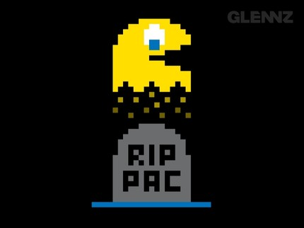 Pac Man Crossed Over