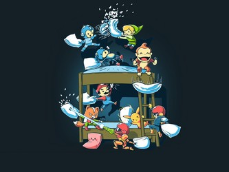 Smash Bros Pillow Fight