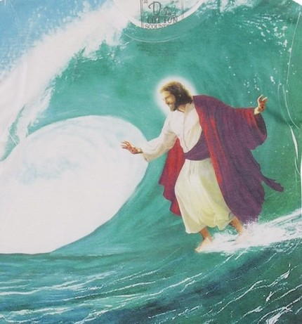 Surf's Up Jesus