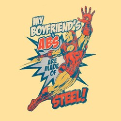My Boyfriend's Abs Are Made Of Steel!