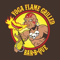 Yoga Flame Grilled BBQ