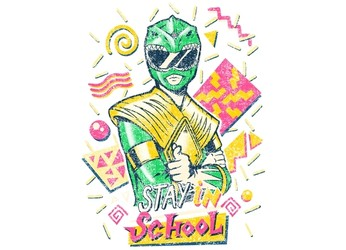Green Ranger - Stay in School
