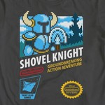 Retro Shovel Knight NES Cartridge