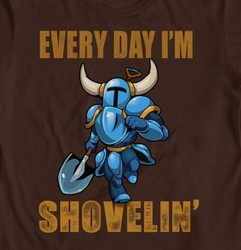 Shovel Knight: Every Day I'm Shoveling