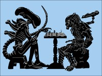 AVP Alien vs Predator Chess