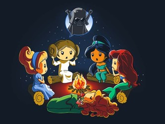 Rebel Princess Campfire Story