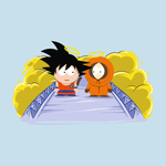 Goku and Kenny In Heaven