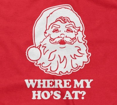 Santa Claus - Where My Ho's At?