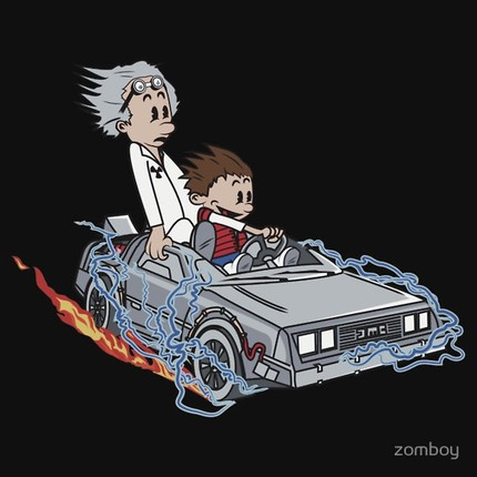 Marty and Doc - Great Scott !!!