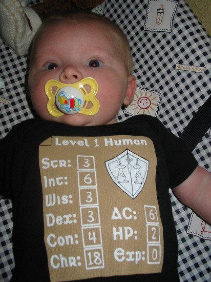Baby Outfit - Level 1 Human