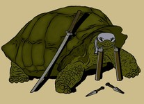 Boticelli: The Sad Story of the Non-Mutant Turtle