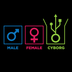 Gender Identification - Male, Female, Cyborg