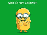 Minions - When Life Gives You Lemons