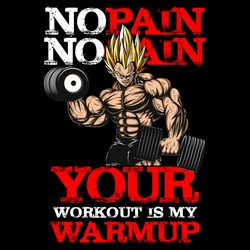 No Pain No Gain - Your Workout Is My Warmup