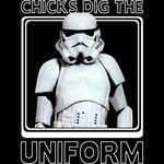 Stormtrooper - Chicks Dig The Uniform