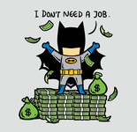 Batman - No Part Time Job
