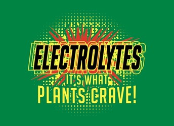 Electrolytes, It's What Plants Crave!