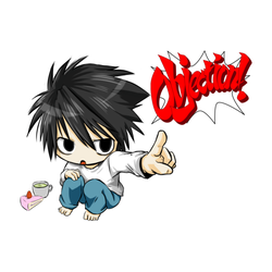 Death Note L Objection!