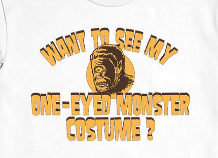 Want To See My One-Eyed Monster Costume?