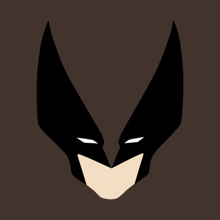Wolverine Or Two Batmen Kissing?