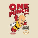 One Punch Man / Mario Game Cover