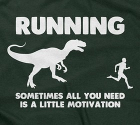 Running - Sometimes All You Need Is A Little Motivation