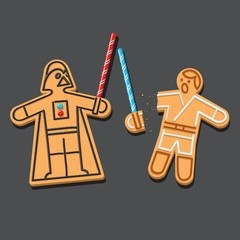 Delectable Darkside - Jedi Gingerbread