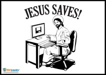 Jesus Saves (to the Cloud!)