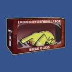 Emergency Defibrillator - Break Glass