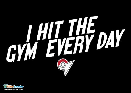 I Hit The Gym Every Day (Pokemon)