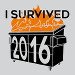 I Survived 2016 - Dumpster Fire