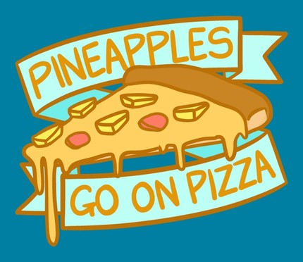 Cool Kids Club - Pineapples Go On Pizza