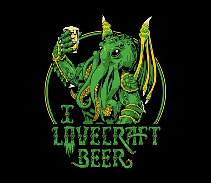 I Lovecraft Beer