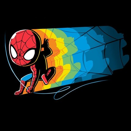 Psychedelic Spider-Man
