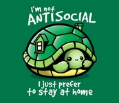 I'm Not Antisocial - I Just Prefer To Stay At Home